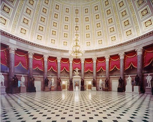 National Statuary Hall Inside United States Capitol