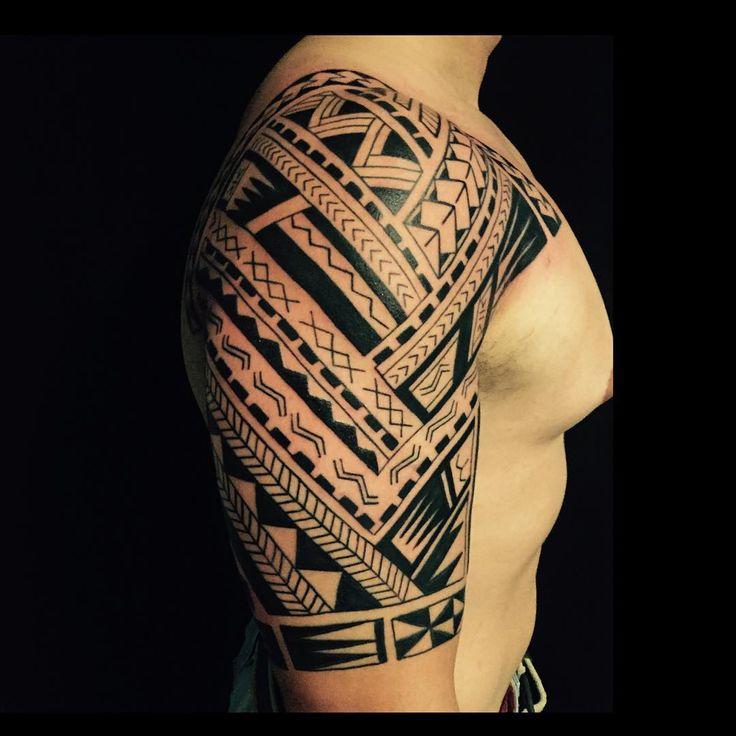 Maori Sleeve Tattoos For Men