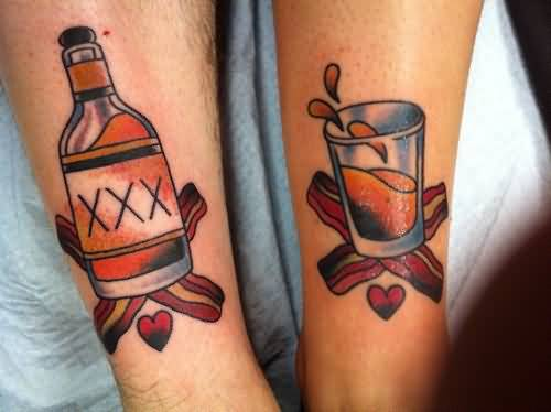 60+ Incredible Glass Tattoos And Ideas