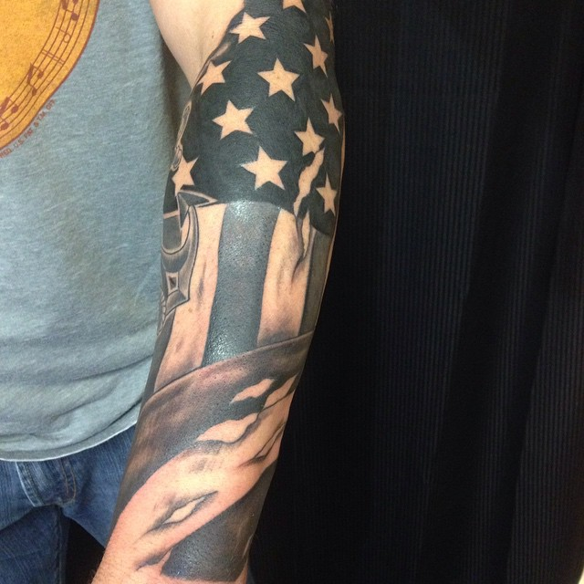 51+ Amazing Us Flag Tattoos