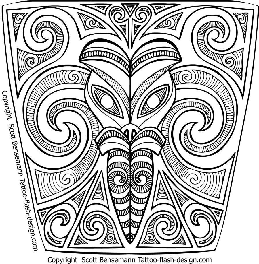 Tattoo Flash Maori: 31+ Latest Maori Tattoo Designs