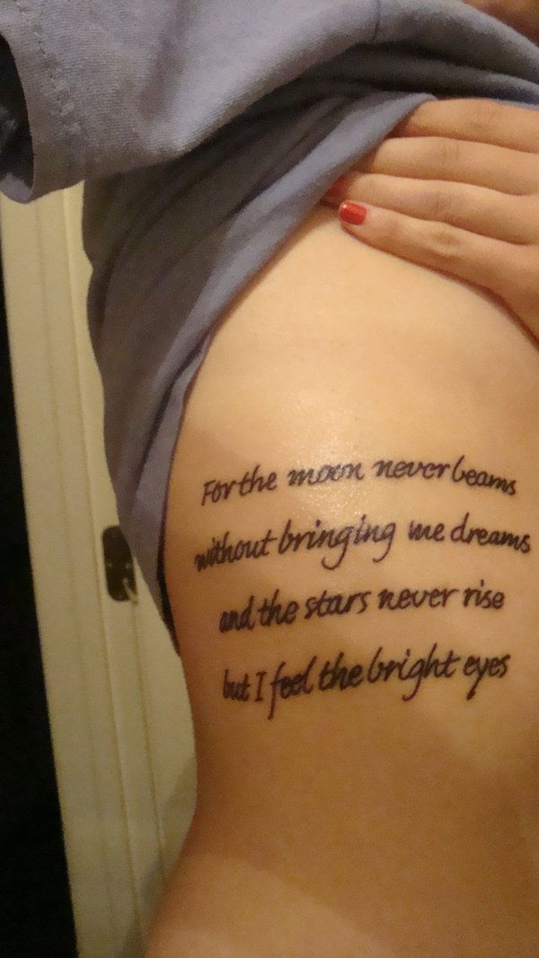 45 Rib Tattoo Ideas Youll Want To Have Tats N Rings