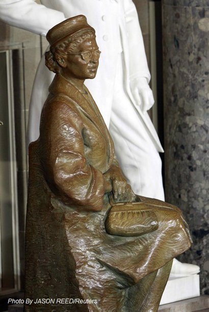Rosa Parks Statue Inside The United States Capitol