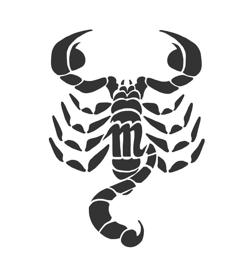 Scorpio Symbol Tattoo Design By Docwario D51zt6u
