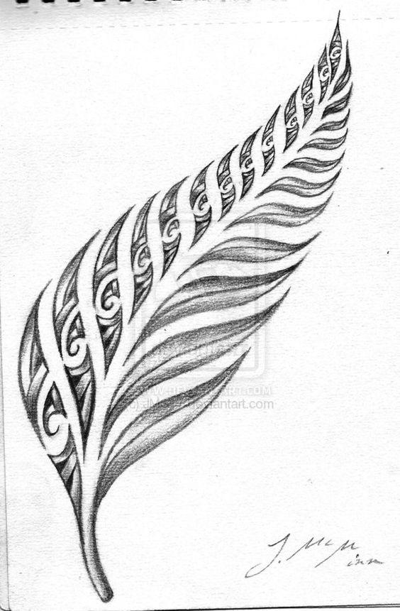 Maori Fern Tattoo: 31+ Latest Maori Tattoo Designs