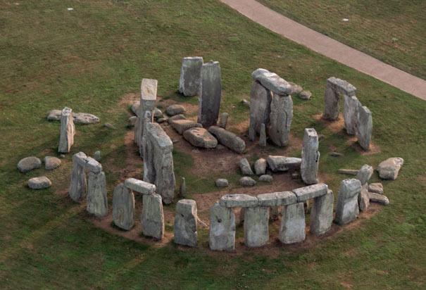 Aerial View of Stonehenge Photographic Print by Jason ... |Stonehenge Aerial View Complete