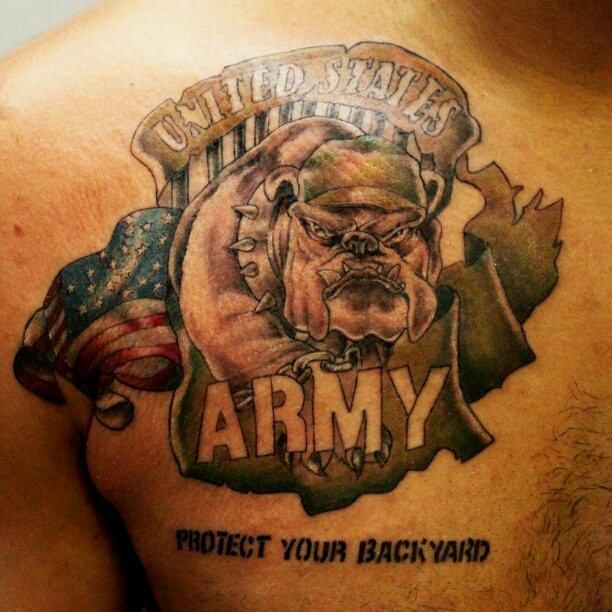 30 us army flag tattoos. Black Bedroom Furniture Sets. Home Design Ideas