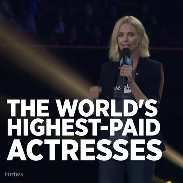 The World's Highest Paid Actresses 2016