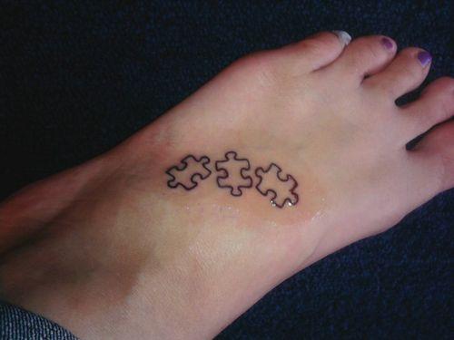 60 Unique Puzzle Tattoos