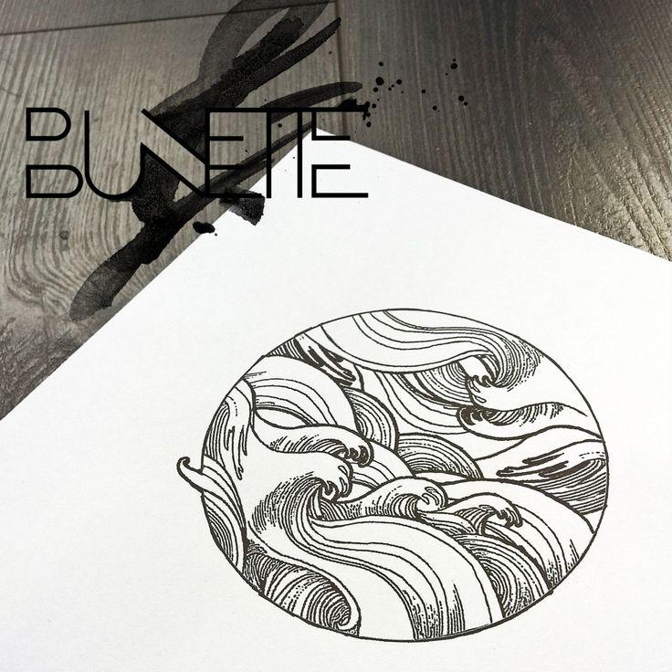 15+ Latest Water Tattoo DesignsWaves Drawing Tattoo