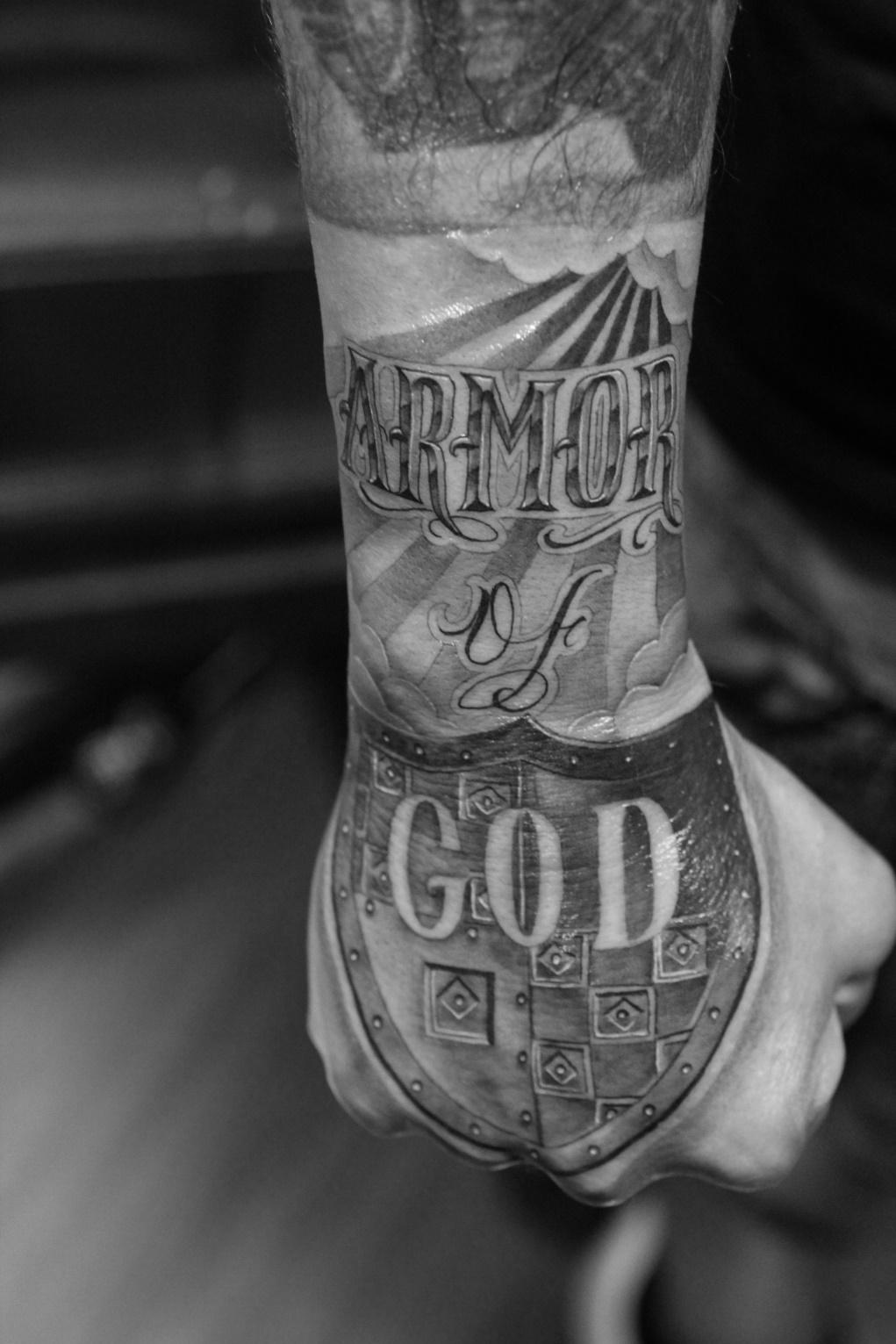 25+ Armor of God Tatto...
