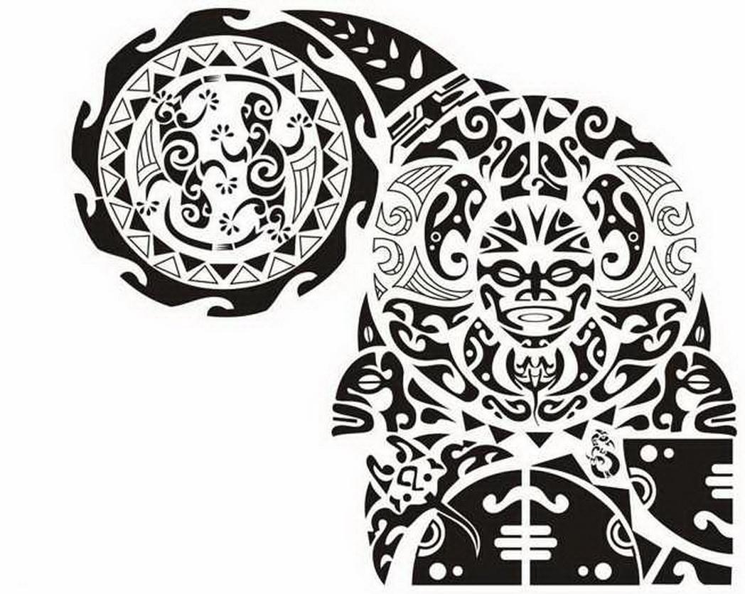 31 Latest Maori Tattoo Designs