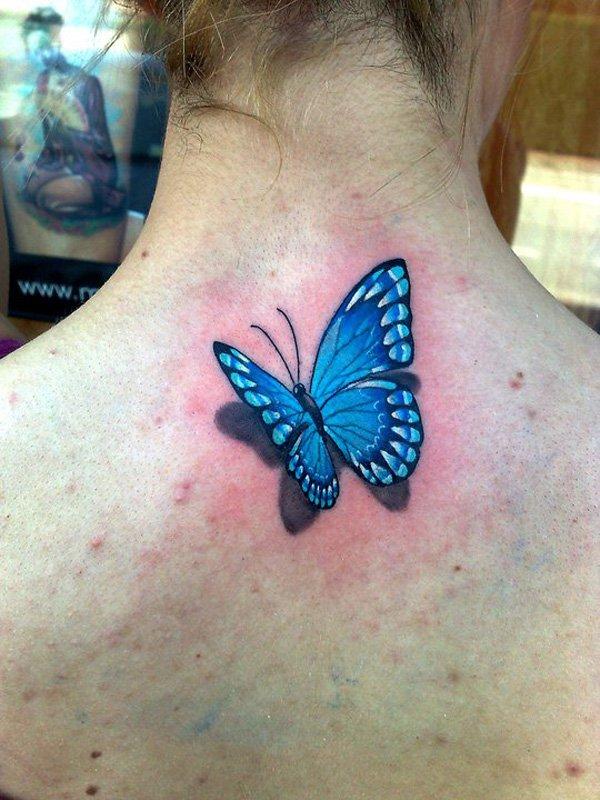 31 3d butterfly tattoos. Black Bedroom Furniture Sets. Home Design Ideas