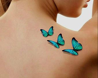 31 3d Butterfly Tattoos