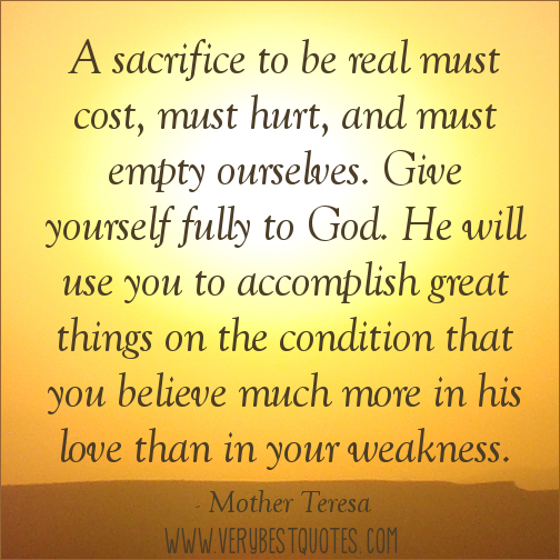 Image result for a mother's sacrificing love christian