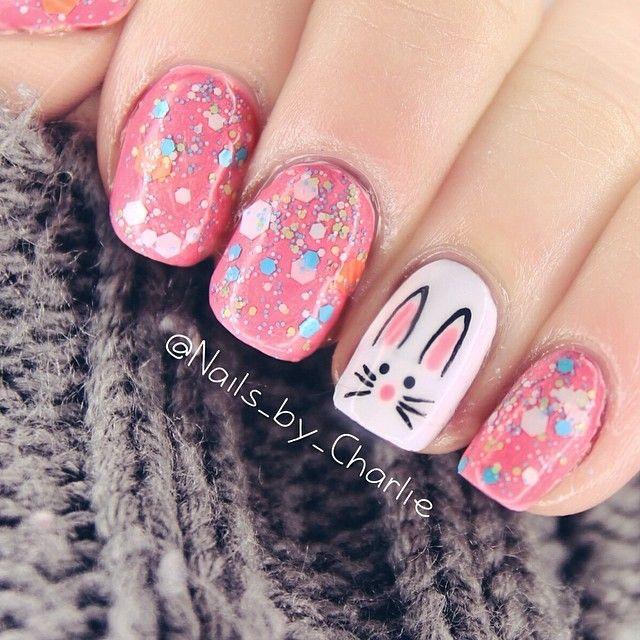 35 Beautiful Easter Nail Art Design Ideas For Trendy Girls