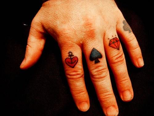 Мужские татуировки на пальцах Татуировки для мужчин на