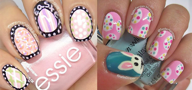 Adorable Easter Nail Art Design Ideas - 60 Incredible Easter Nail Art Ideas