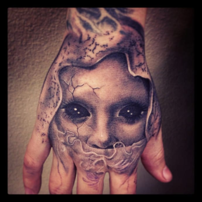 Intimidating nice guy tattoo
