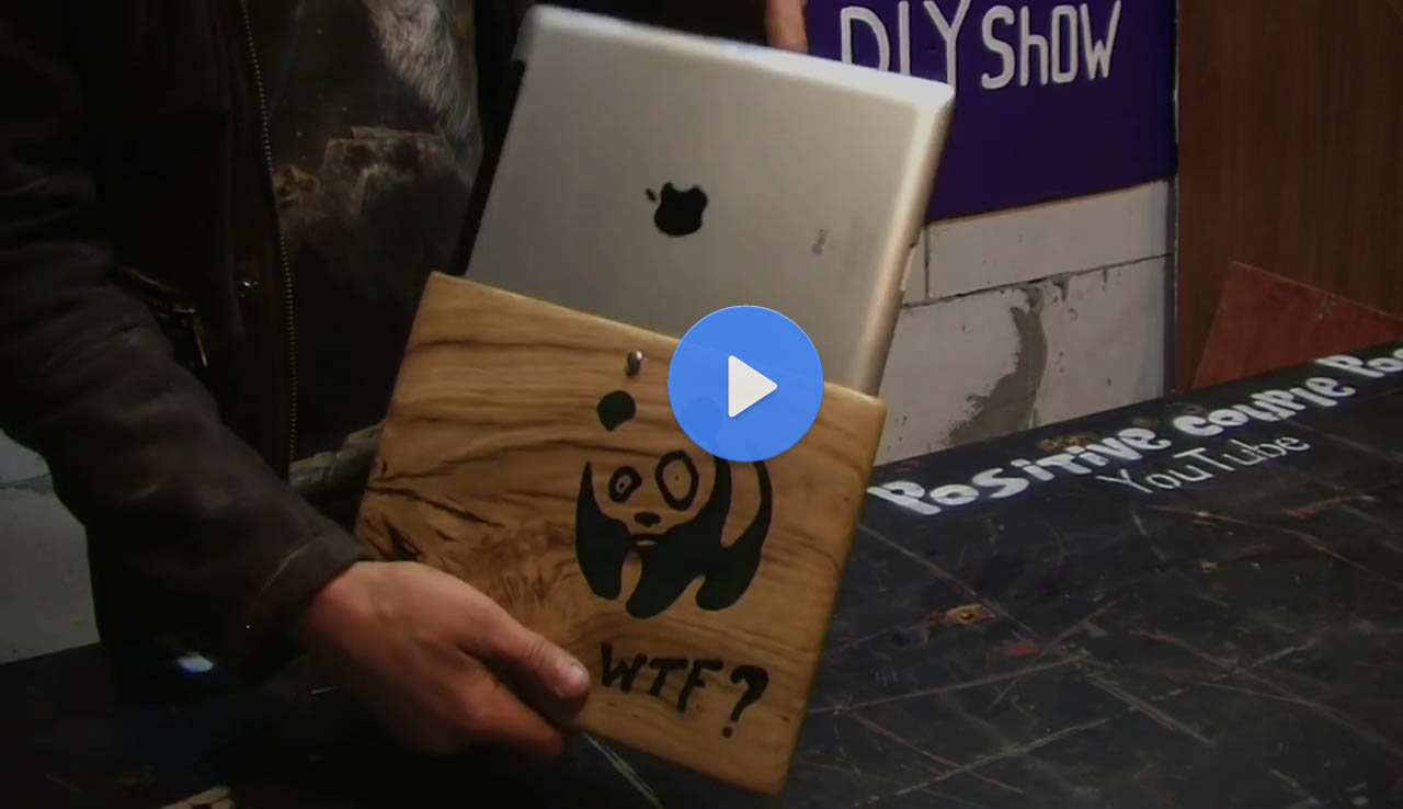 How To Make An Oak Wood Tablet Case