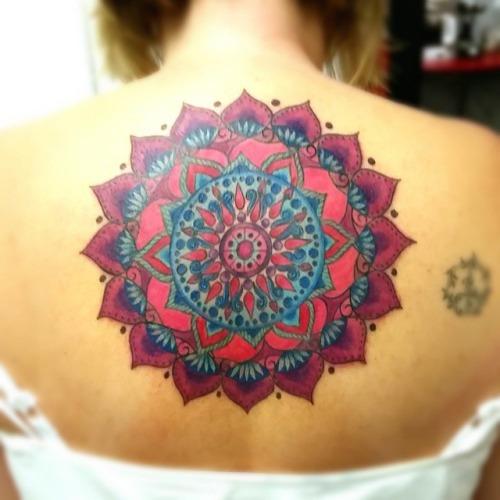 45 Mandala Tattoos Ideas For Back