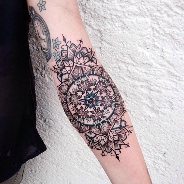 40 Mandala Tattoos On Forearm