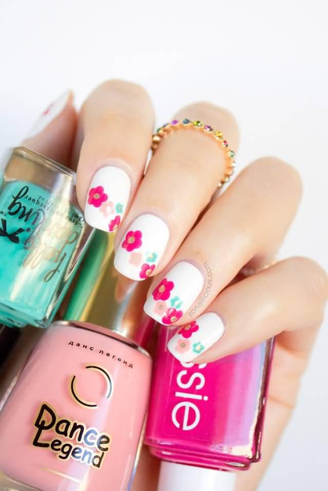 60 Most Beautiful Spring Nail Art Designs