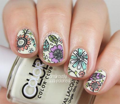 50 Beautiful Spring Nail Art Design Ideas