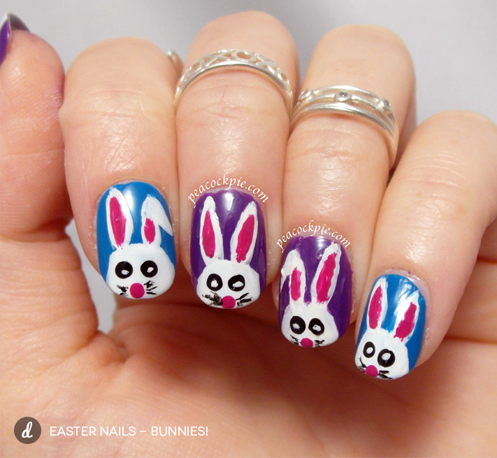 Purple Easter Nail Designs : Beautiful easter nail art design ideas for trendy girls