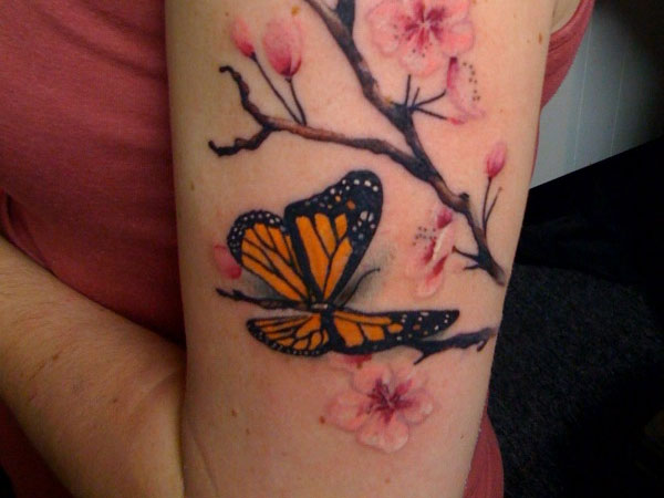 36+ Monarch Butterfly Tattoos