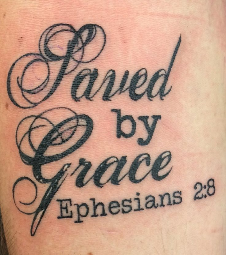 Christian Religious Tattoo On Man Chest