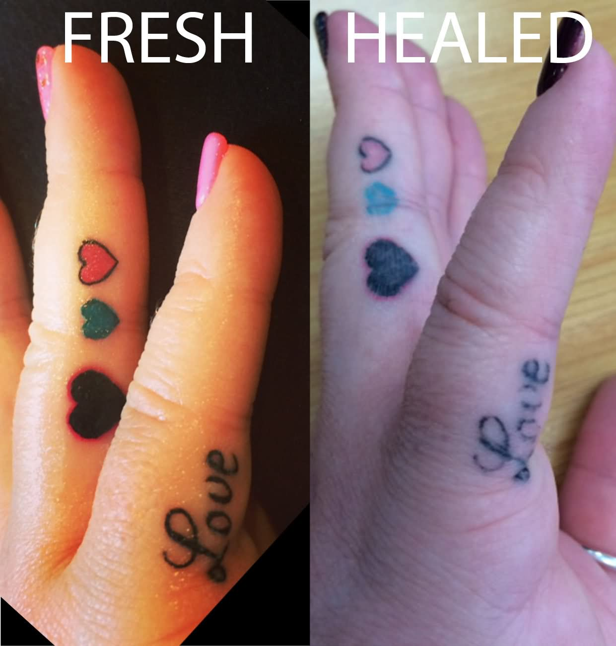 58 best finger tattoos collection for Do tattoos on hands fade