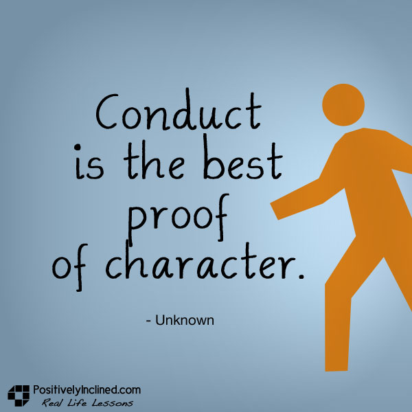 character not circumstance makes the person Not merely bear what is necessary, still less conceal it but love it  in the book,  man's search for meaning by viktor frankl, he discusses  what inspires us most  is the character they displayed during those circumstances.