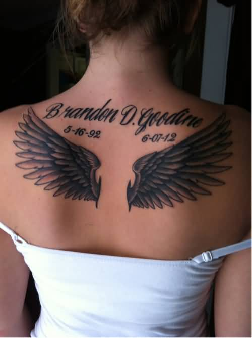 45 Memorial Angel Tattoos Ideas