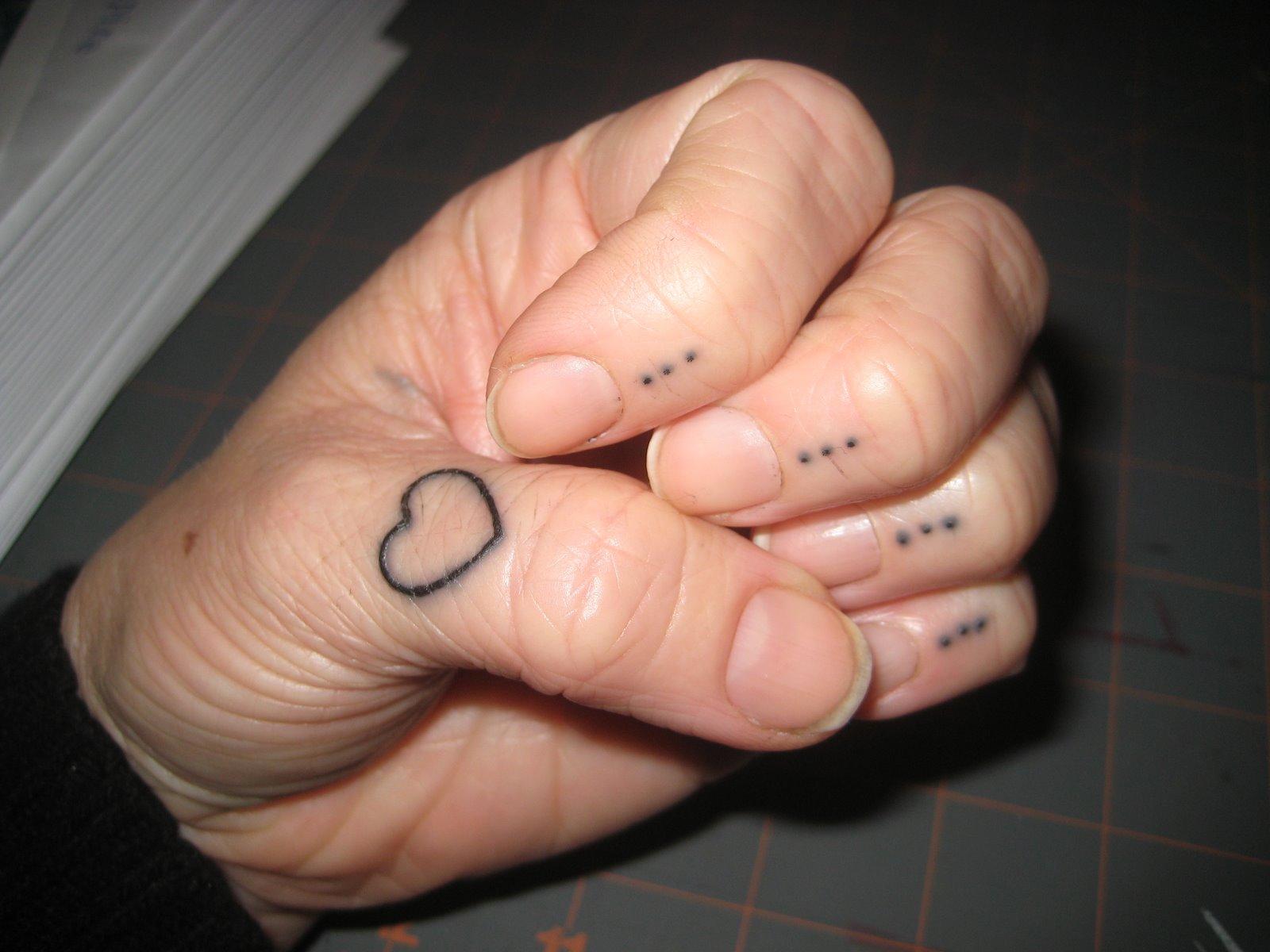 50 heart finger tattoos for girls. Black Bedroom Furniture Sets. Home Design Ideas