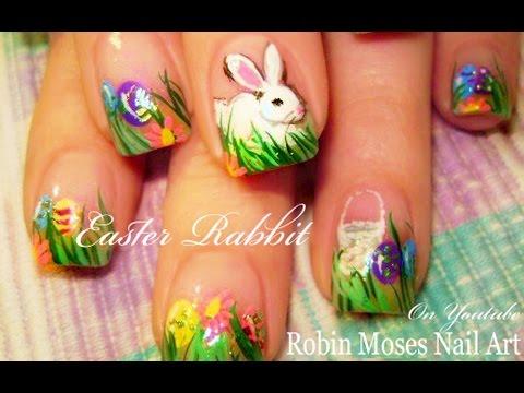 Cute Easter Nails Design Idea