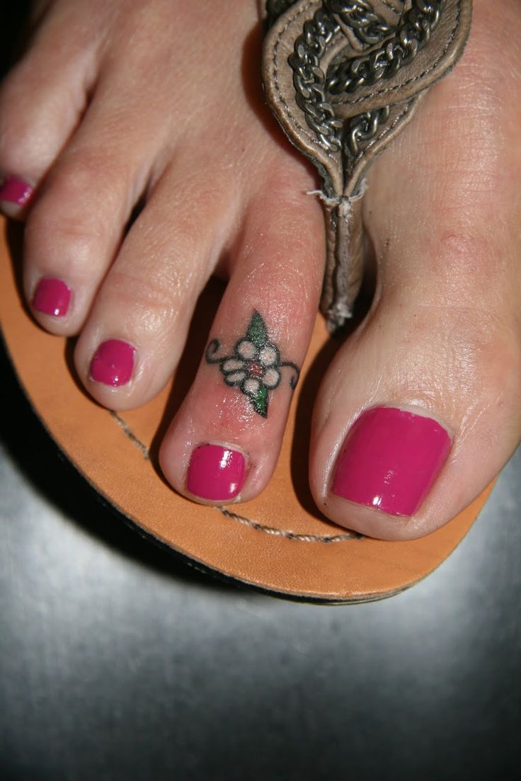 Small Flower Tattoos For Your Foot Flowers Healthy