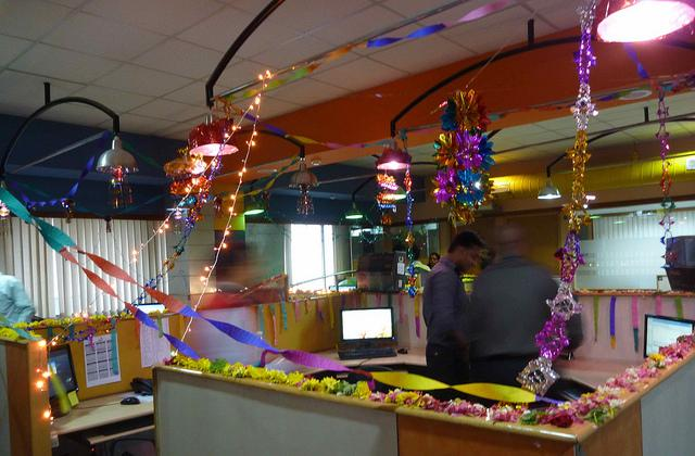 20 Beautiful Diwali Decoration Ideas For Office And Home