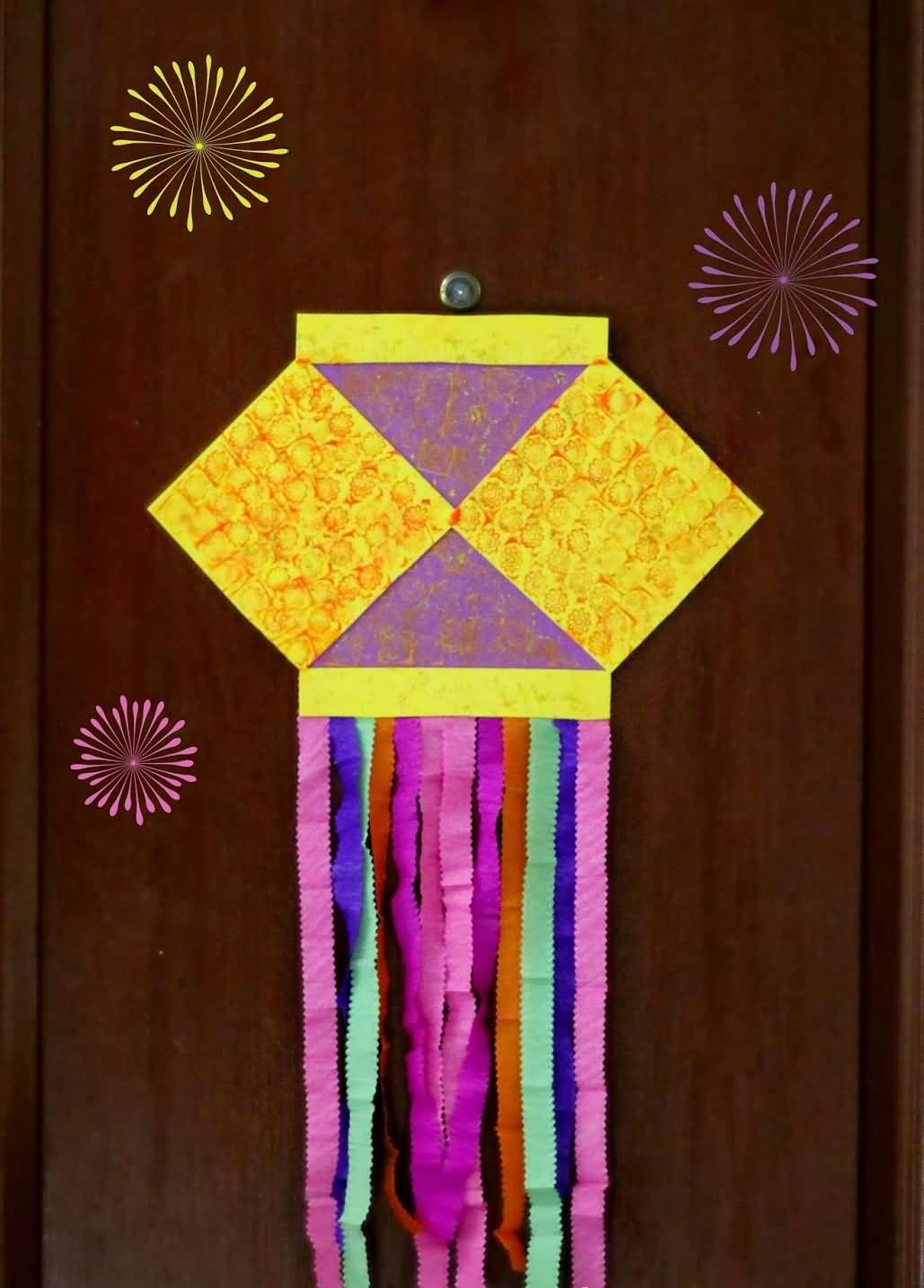 20 beautiful diwali decoration ideas for office and home for Art and craft diya decoration