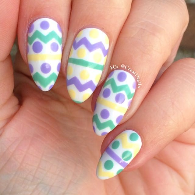 35 Beautiful Easter Nail Art Design Ideas For Trendy Girls