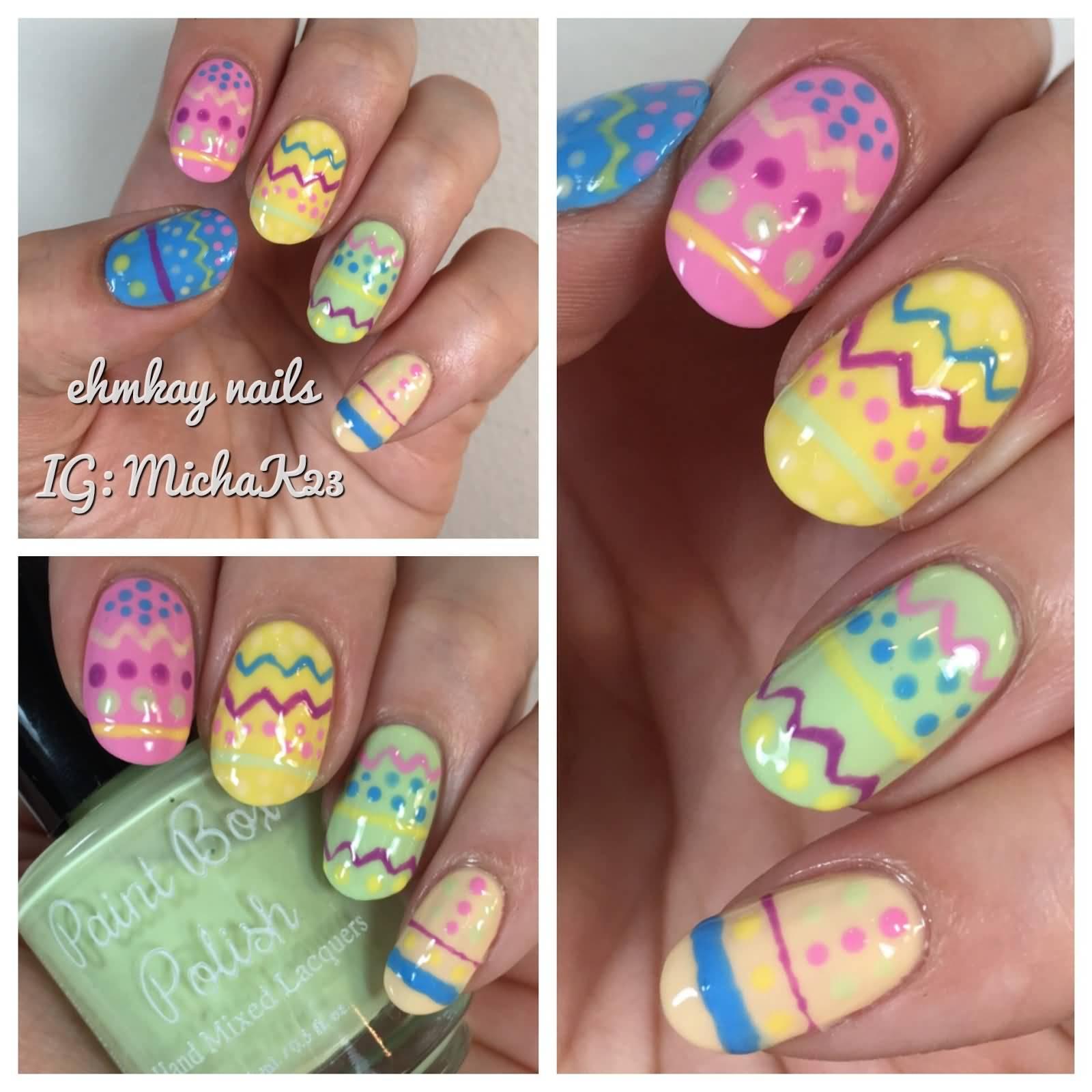 60 Incredible Easter Nail Art Ideas