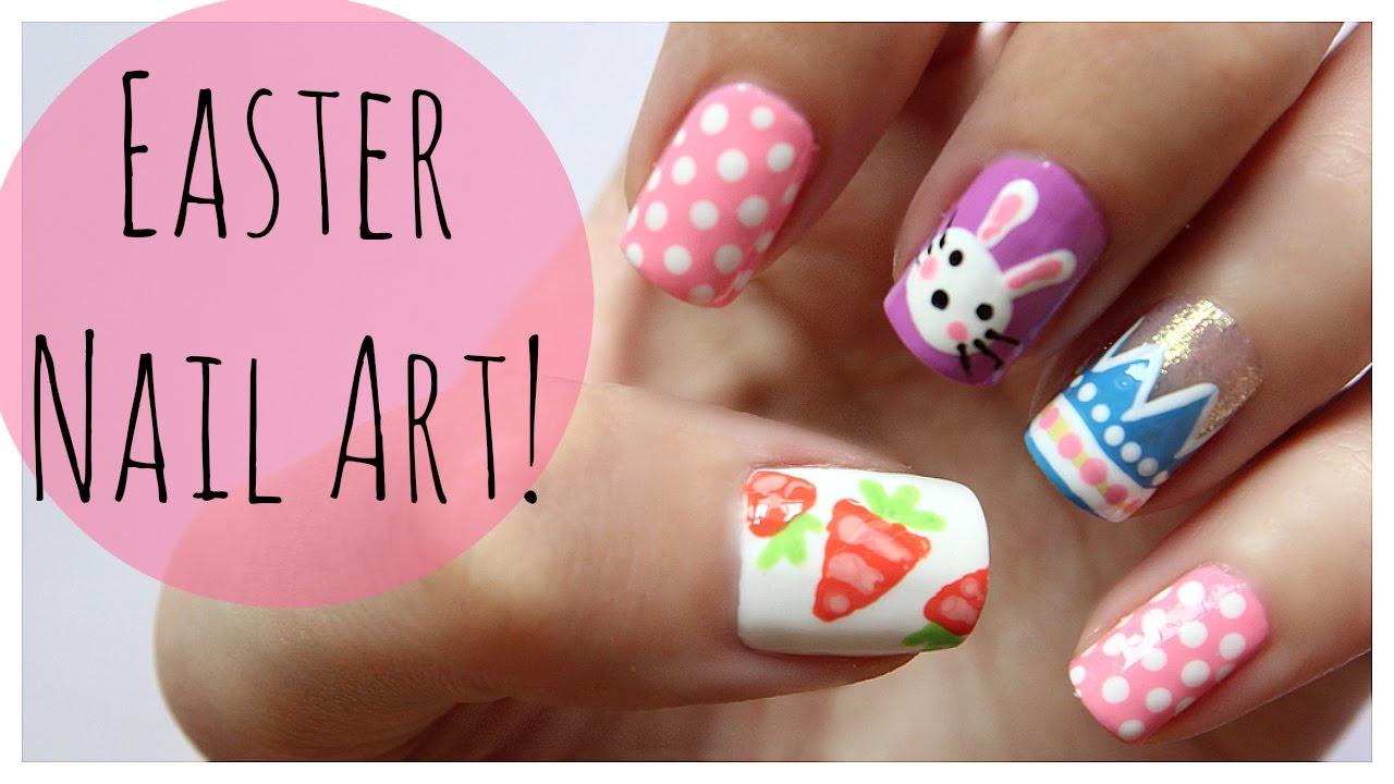 Easter Nail Art Tutorial Video