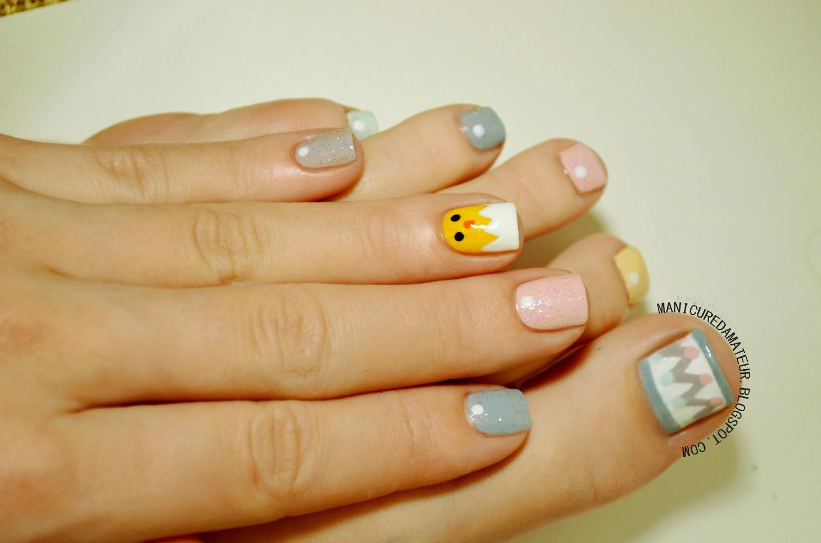 10 adorable easter toe nail art designs easter toe nail art prinsesfo Images