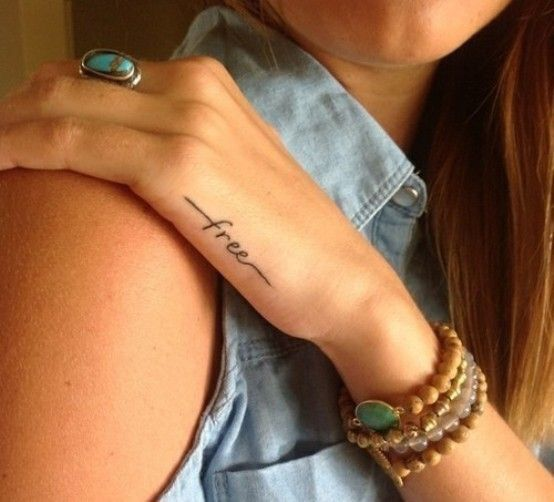 Tattoo Quotes Hand: 35+ Awesome Side Hand Tattoos