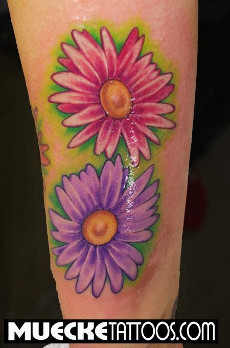 50+ Latest Daisy Tattoos Ideas