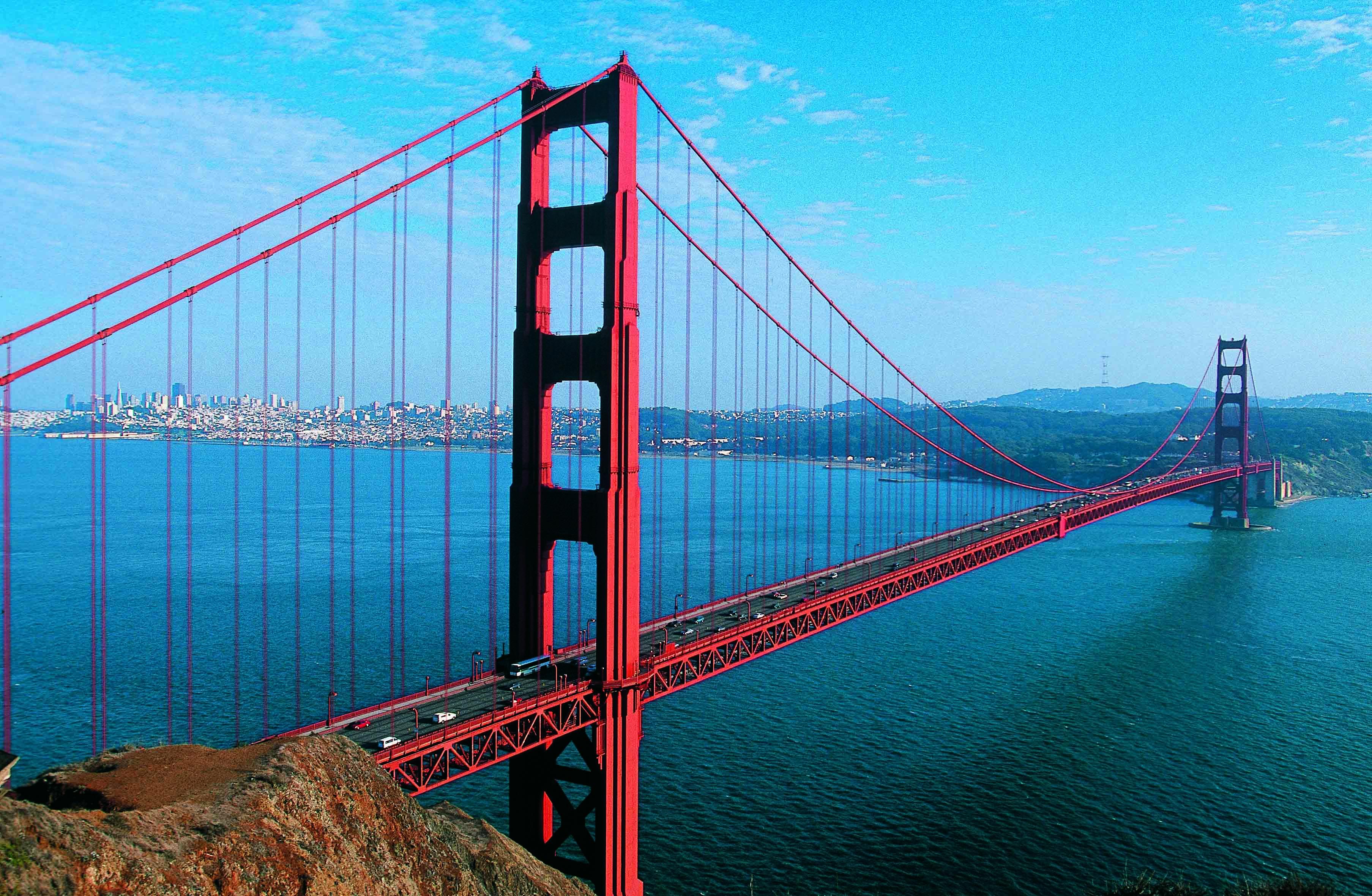 Golden gate bridge USA wallpaper travel and world Wallpaper