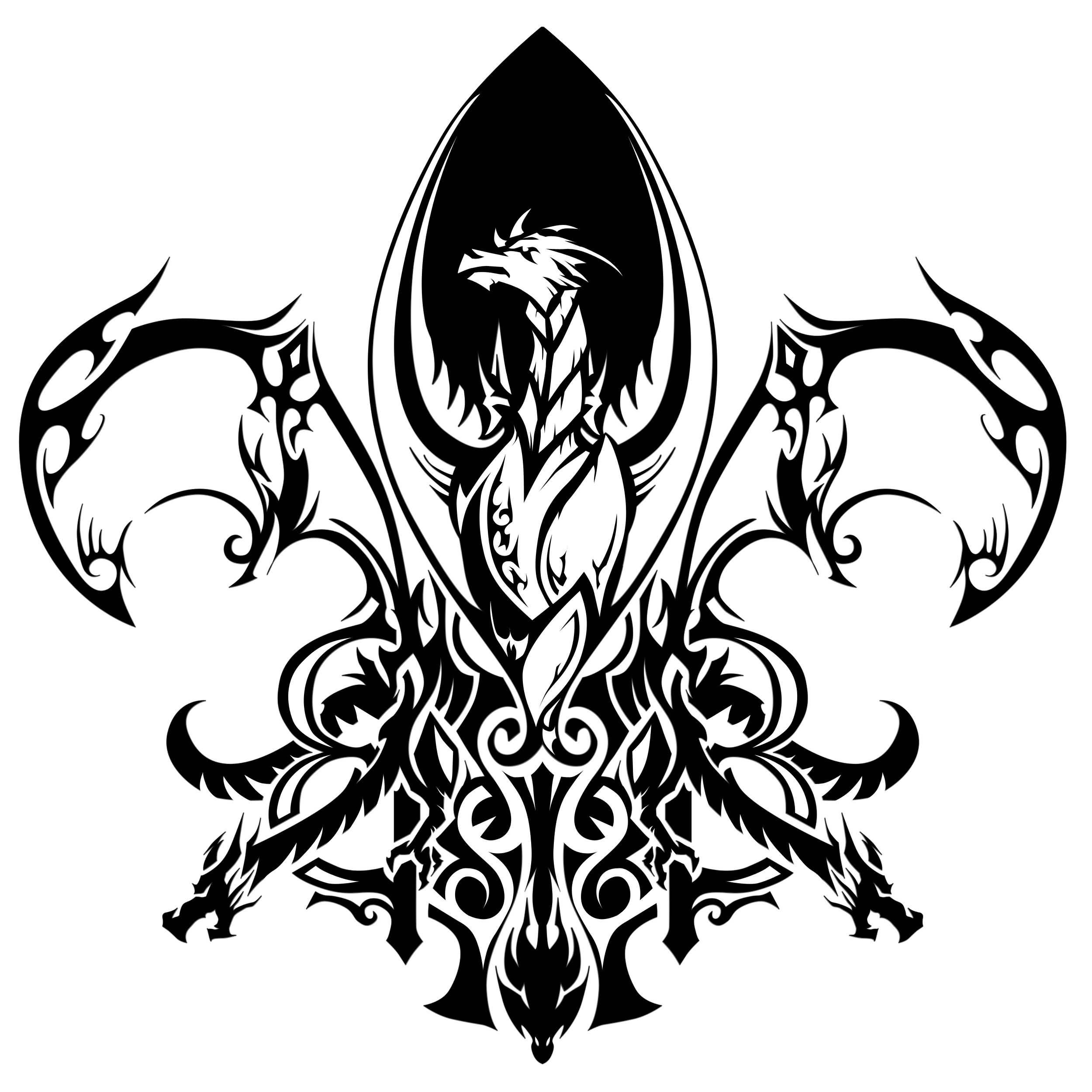36 latest fleur de lis tattoo designs. Black Bedroom Furniture Sets. Home Design Ideas