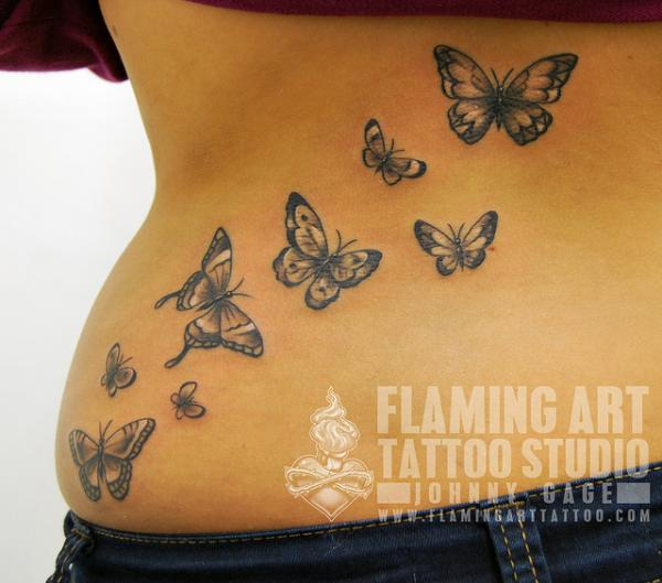 70 cute butterfly tattoos collection. Black Bedroom Furniture Sets. Home Design Ideas