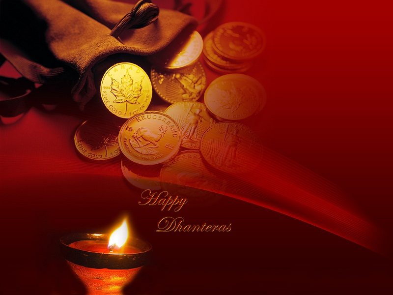 Happy Diwali And Dhanteras Wallpapers: 60+ Best Dhanteras Wishes Pictures And Photos