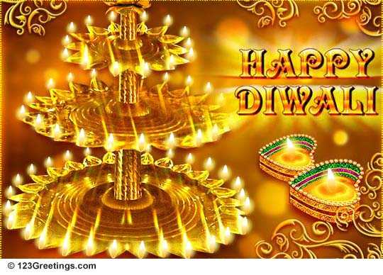 60 beautiful diwali wishes and greetings happy diwali lighting lamps m4hsunfo